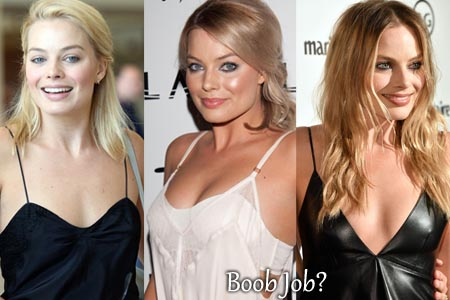 Margot Robbie Boob Job